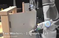 موفق شدن ربات در باز کردن در