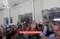 استقبال مردم خوزستان از قالیباف