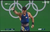رکورد شکنی و کسب مدال طلای المپیک توسط کیانوش رستمی