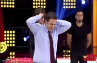 عارف غفوری شعبده باز ایرانی در برنامه تلوزیونی ترکیه