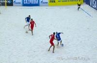 خلاصه بازی فوتبال ساحلی ایران ایتالیا 4-5 (جام جهانی فوتبال ساحلی)
