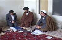 دیدار  مسولین پژوهشکده با آیت الله سید رضی شیرازی(ق1)