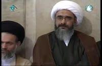 اعطای لقب (عالم فرزانه) از جانب مقام معظم رهبری به حضرت آیت الله صفایی بوشهری