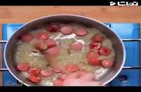 ویدئو آشپزی: طرز تهیه پاستا هاتداگ با پنیر خوشمزه