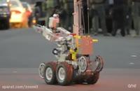 مراحل توسعه ی ربات Cazmo