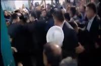 حضور روحانی در انتخابات در حسینه ی ارشاد