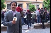 شوخی اینبار با خبرنگار اعزامی به رُم