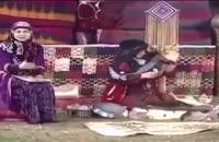 آتش گرفتن لباس خانم آشپز در پخش زنده