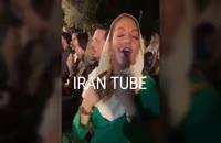 مهناز افشار و همسرش در جشن تولد رضا عطاران