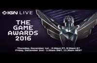 مراسم The Game Awards 2016