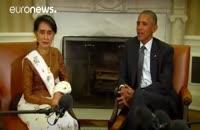 آمریکا از لغو تحریم های میانمار در آینده ای نزدیک خبر داد