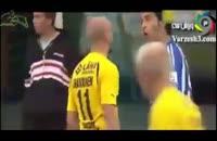 حوادث خنده دار هنگام بازی فوتبال