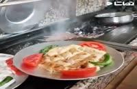 کلیپ خوشمزه آموزش کباب مخصوص سر آشپز