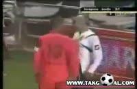صحنه های خشونت آمیز در فوتبال