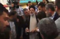 حجت الاسلام رئیسی رای خود را درون صندوق انداخت
